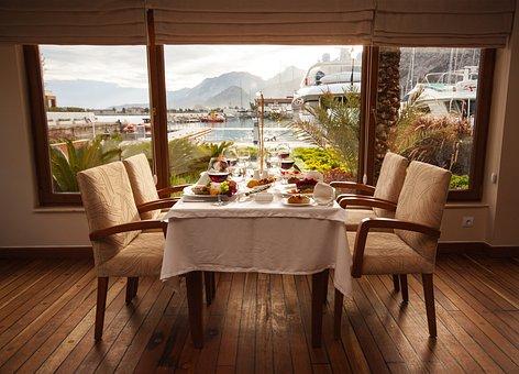 Breakfast, Food, Table, Landscape, Coffee Cup