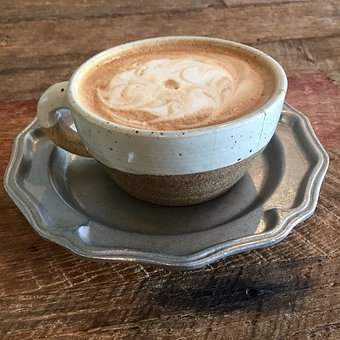Coffee, Desk, Wood, Rustic, Cup, Work, Mug, Cafe
