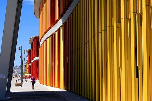 Architecture, Modern, Modern Building, Figure