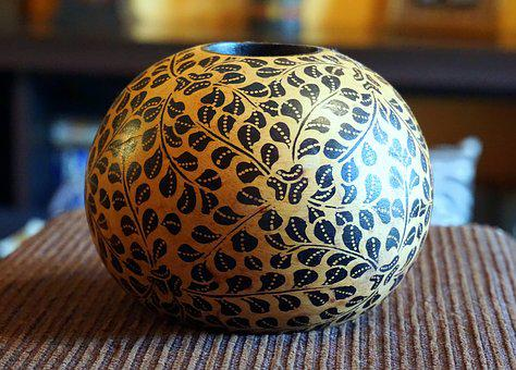 Bowl, Container, Old, Decoration, Texture, Antiques