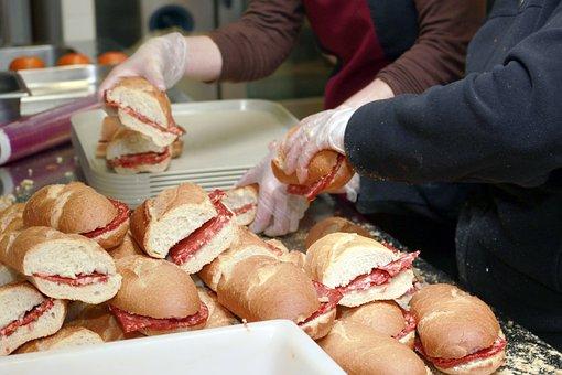 Sandwich, Picnic, Bread, Sausage, Food, Nutrition