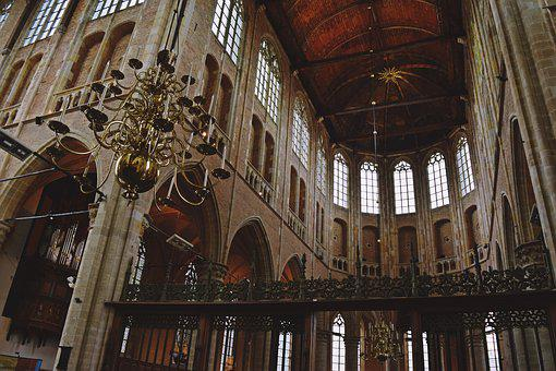 Church, Netherlands, Architecture, Building, Old Town