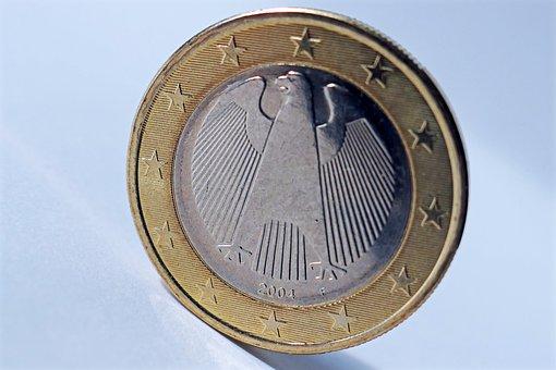 Euro, Coin, A Euro, Money, Loose Change, Specie, € Coin