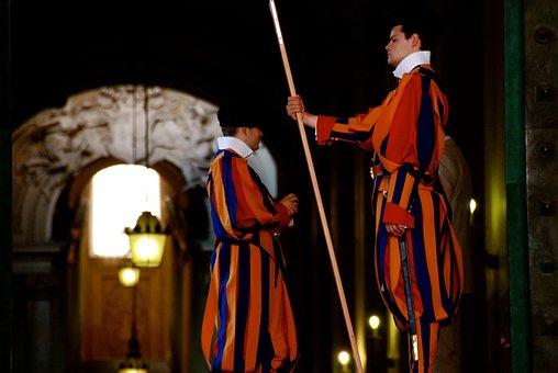 Vatican, Italy, Guards