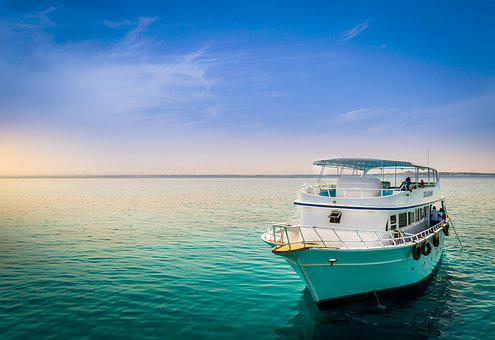 Boat, Red Sea, Sky, Egypt, Water, Life, Sea, Underwater