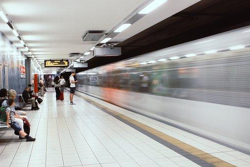 Ubahn, Bahn, Train, Transport, Public Transport