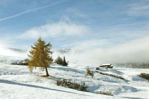 South Tyrol, Mountain, Tyrol, Landscape, Idyll, Snow