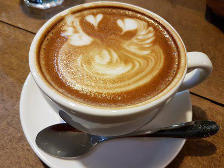 Coffee, Latte, Cappuccino, Espresso, Cafe, Drink, Cup