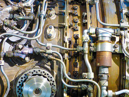 Engines, Turbine, Flying, Detail, Engine, Aircraft