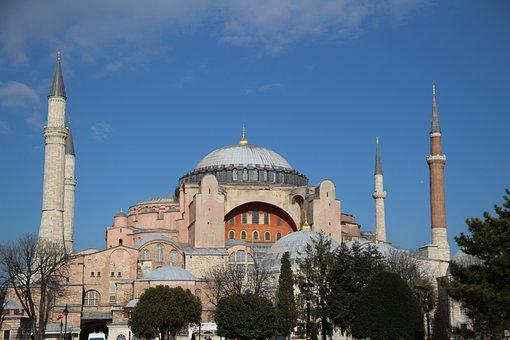 Hagia Sophia, Istanbul, Turkey, Sultanahmet, Cami