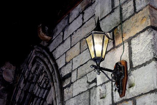 Light, Middle Ages, Vintage, Monastery, Cloister