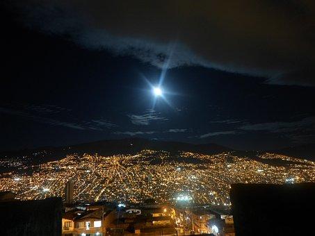 Night Landscape, Night, City, Photography Night, Sky