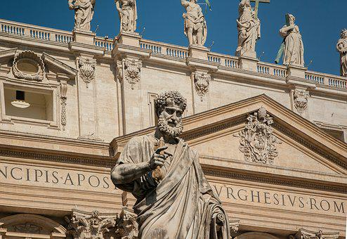 Rome, Vatican, John Dory Up, Basilica, Saint-pierre