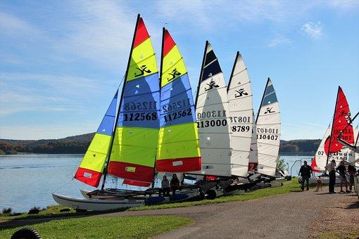 Sail, Sailing Boats, Water, Sailing Vessel, Blue