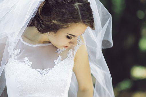 Wedding, Bride, White, Dress, Marriage, Love, Woman