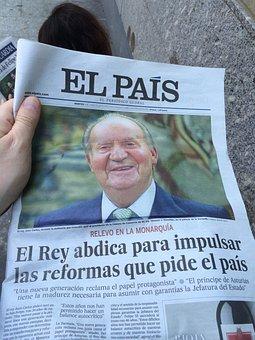 Newspaper, News, Spain, King, Posts, Choice, Innovation