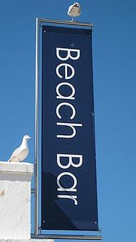 Beach Bar, Seagull, St Ives, Cornwall