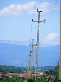 Industries, Electricity, Power, Line, Industry, Energy