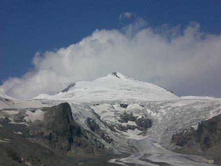Grossglockner, Pasterze Glacier, Cold, Freeze, Winter