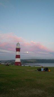 Lighthouse, Tower, Light, Landmark, Sea, Navigation