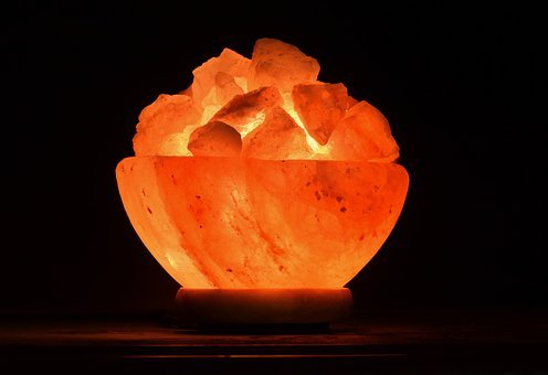 Light, Night Light, Salt Crystals, Salt Crystal Lamp