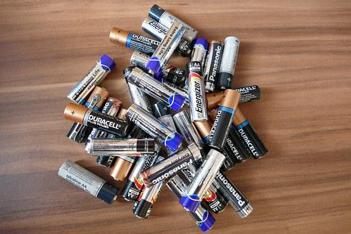 Batteries, Cells, Battery, Energy, Power, Technology