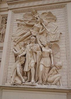 Frieze, Bas-relief, Relief, Sculpture, Carving, Stone