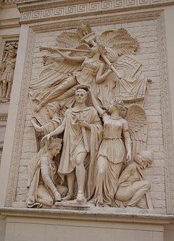 Frieze, Bas-relief, Relief, Sculpture, Carving, Stone