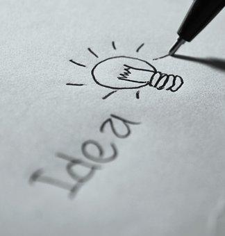 Idea, Writing, Plan, Symbol, Pen, Vision, Creative