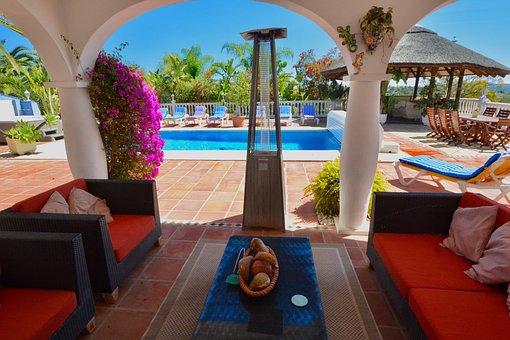 Villa, Backyard, Holiday Villa, Swimming Pool, Relaxing