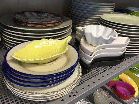 China, Recycling, Secondhand, Plate, Bowl, Kitchen, Mat