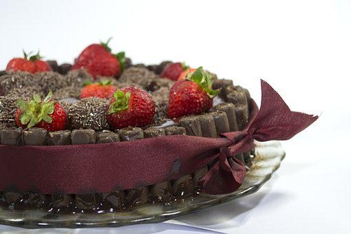 Cake, Chocolate, Cocoa, Party, Brigadeiros, Birthday