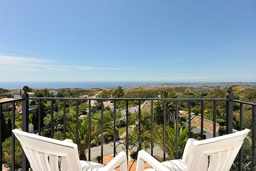 Costa Del Sol, Views, Balcony, Chairs, Holiday