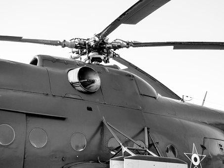 Helicopter, Flight, Military, Rotor, Propeller, Engines