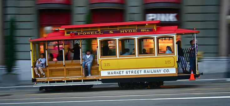 San Francisco, Market Street, California, City, Usa
