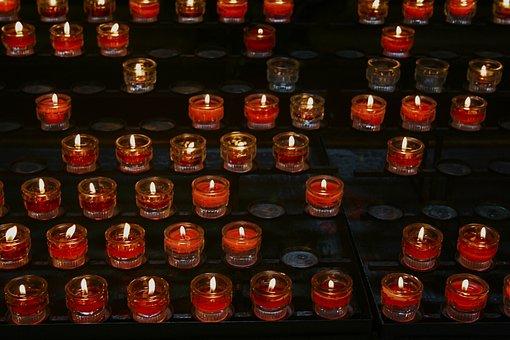 Pentecost, Light, Candle, Religion, Church, Holy, Faith