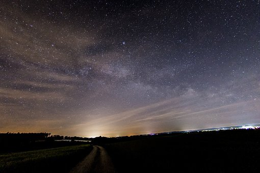 Milky Way, Star, Night Sky, Starry Sky, Sky, Night