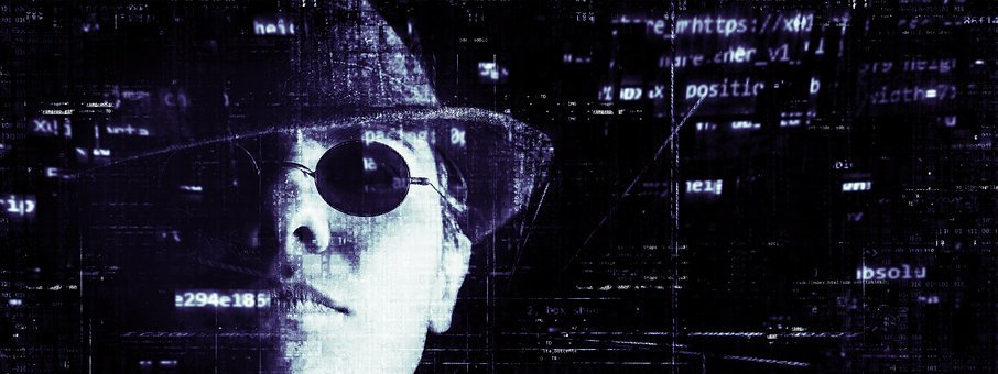 Hacker, Cyber Crime, Banner, Header, Internet, Computer