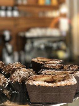 Cinnamon Buns, Apple Cake, Coffee Break