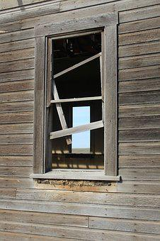 Window, Dilapidated, Delapited, Wooden, Building, Old