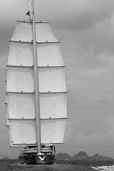 Sailboat, Sea, Boats, Race, Navigation