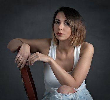 Girl, Portrait, Beauty, Woman, Portrait Of A Woman