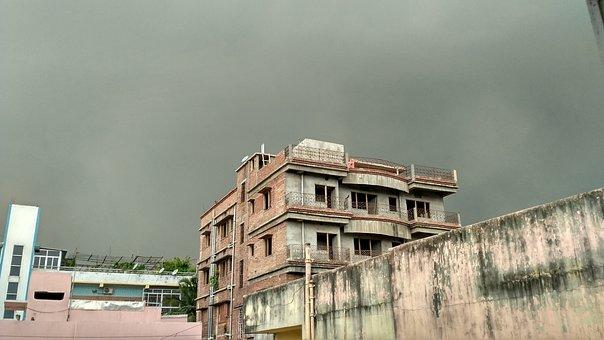 Pre Monsoon, Sky, Dark, Clouds, Weather, Nature