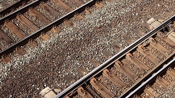Gleise, Seemed, Pages, Train, Railway Tracks, Railway