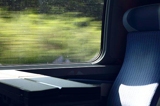 Train, Seat, Drive, Travel, Relax, Locomotion, Railway
