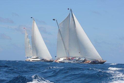 Browse, Sea, Sailboat, Navigation, Marin, Ocean, Race