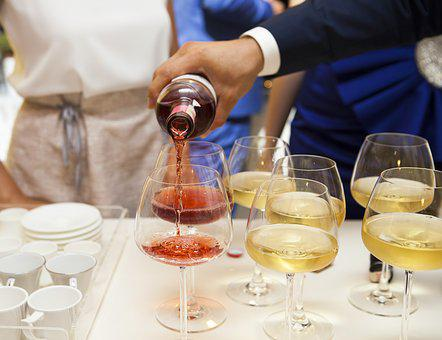 Wine, Champagne, A Toast, Glass, Bottle, Entertainment