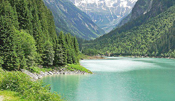 Alpine Lake, Austria, Stillup Memory, Alpine