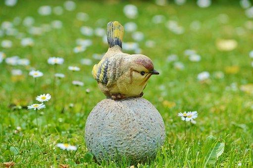 Bird, Sculpture, Stone, Stone Sculpture, Art, Figure