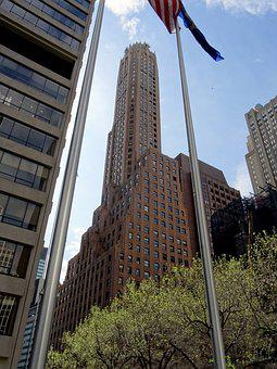 General, Electric, Building, New York, Architecture
